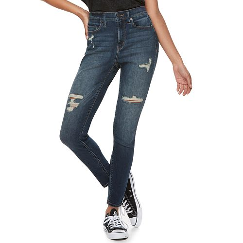 06299666275 Juniors  Mudd® FLX Stretch High-Rise Jean Leggings