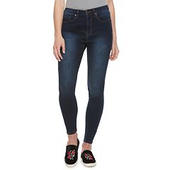 Juniors' Mudd® FLX Stretch High-Rise Faded Jean Leggings