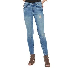 dd9f3dc18c6e91 Juniors' Mudd® FLX Stretch High-Rise Jean Leggings