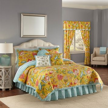 Waverly Modern Poetic Reversible Quilt Set