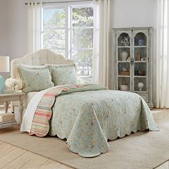 Waverly 3 pc Garden Glitz Bedspread Set