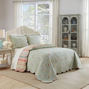 Waverly 3-piece Garden Glitz Bedspread Set