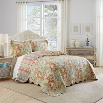 Waverly 3-piece Spring Bling Bedspread Set