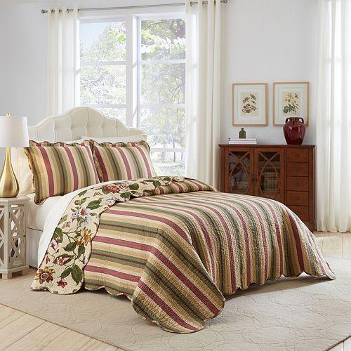 Waverly 3-piece Laurel Springs Bedspread Set