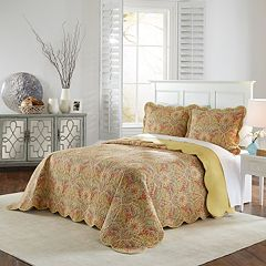 Waverly 3-piece Swept Away Bedspread Set