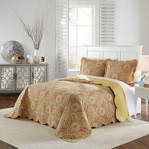 Waverly 3-piece Swept Away Bedspread Set