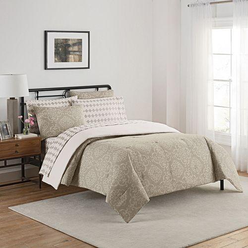 Simmons 7-piece Lyon Comforter Set