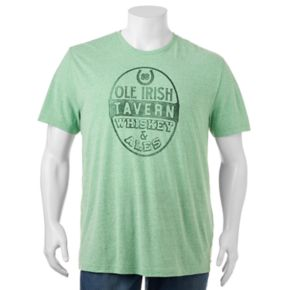 "Big & Tall SONOMA Goods for Life™ ""Ole Irish Tavern"" Tee"