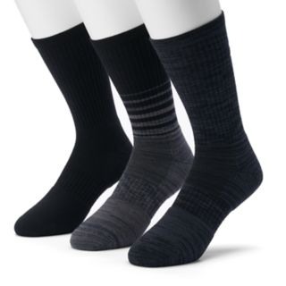 Men's Under Armour 3-pack Phenom Twisted Crew Socks
