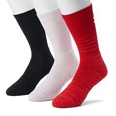 Men's Under Armour 3-pack Phenom Twisted Crew Socks