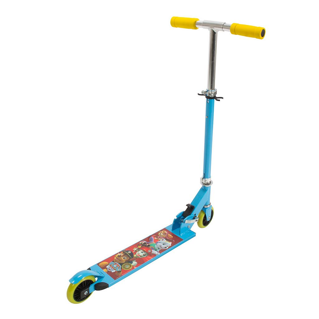 Playwheels Paw Patrol 2-Wheeled Aluminum Folding Scooter