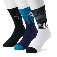 Men's Under Armour 3-pack Phenom 2.0 Crew Socks