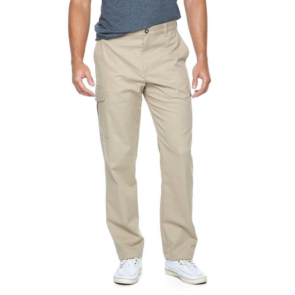 Men's Croft & Barrow® Classic-Fit Easy-Care Cargo Pants