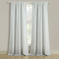 Beatrice Home Fashions 2-pack Dotty Window Curtains