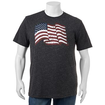Big & Tall SONOMA Goods for Life™ American Flag Tee