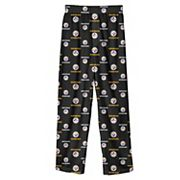 Boys 4-7 Pittsburgh Steelers Team Logo Lounge Pants