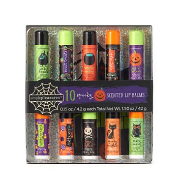 Simple Pleasures 10-pk. Halloween Lip Balm Set