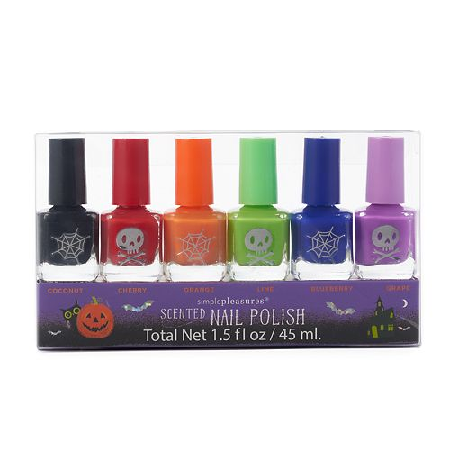 Simple Pleasures 6-pc. Halloween Nail Polish Set