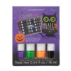 Simple Pleasures Halloween Nail Art Set