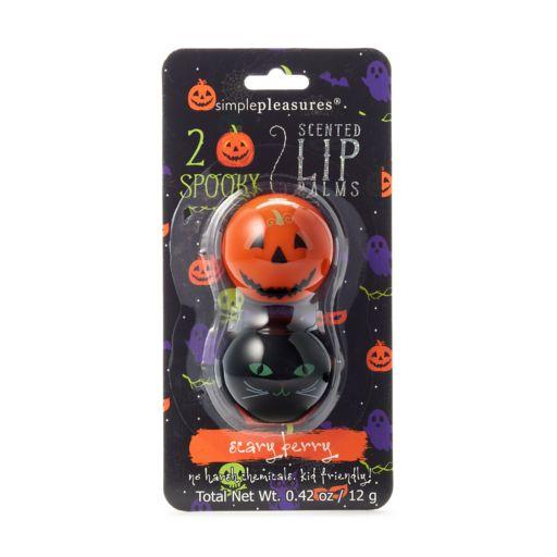 Simple Pleasures 2-pk. Halloween Lip Balm Pods