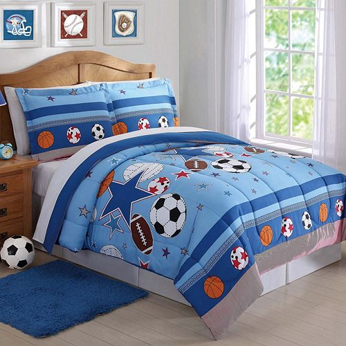 Sports and Stars Comforter Set