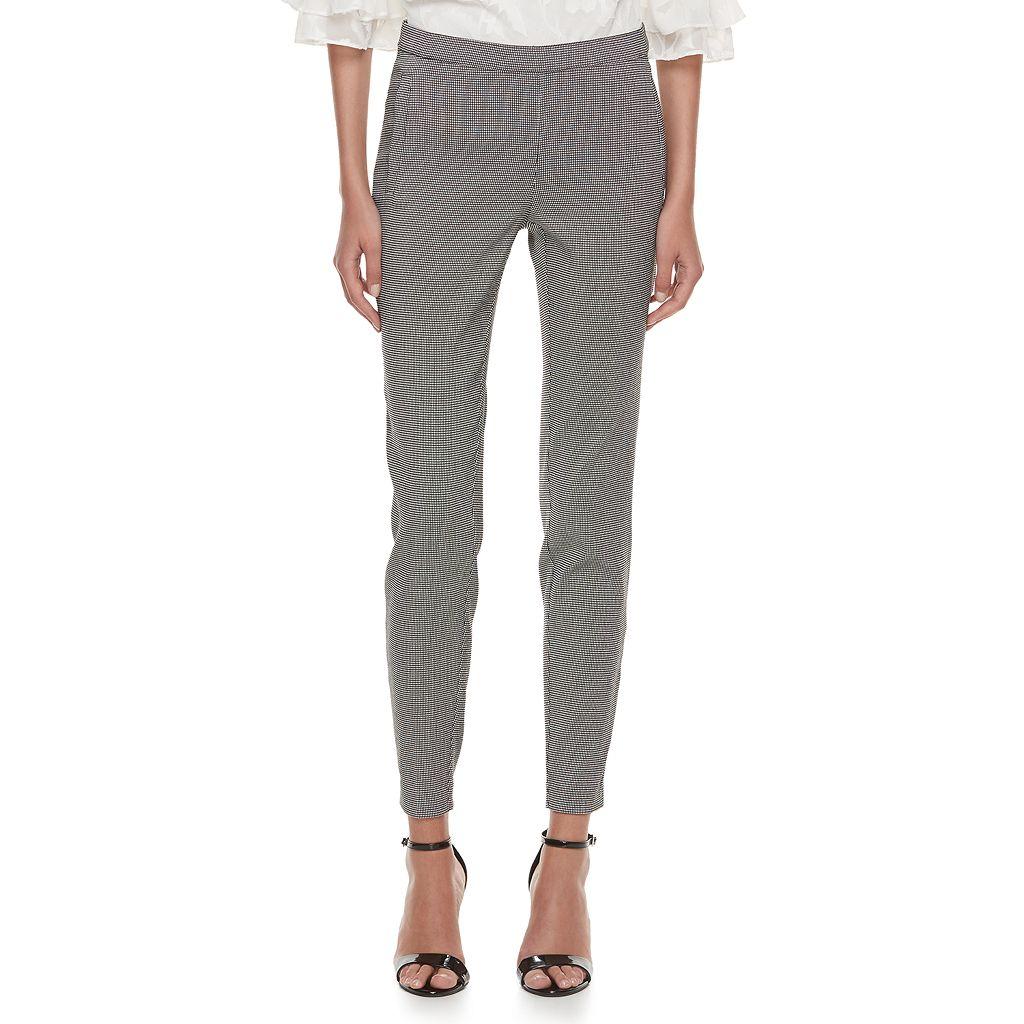 Women's ELLE™ Print Pull-On Skinny Pants