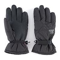 Men's ZeroXposur Travis Shadow Dobby Ski Gloves
