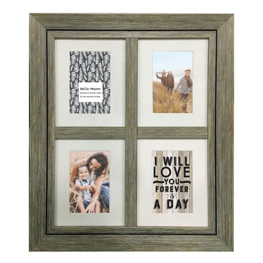 """Belle Maison 4-Opening 4"""" x 6"""" Fashion Collage Frame"""
