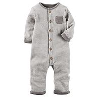 Baby Carter's French Terry Coverall