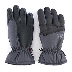 Men's ZeroXposur Max Shadow Dobby Ski Gloves