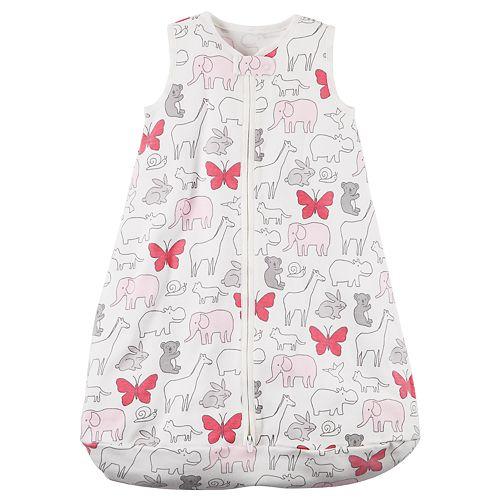 Baby Girl Carter's Animal Sleep Bag