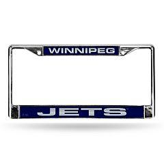 Winnipeg Jets License Plate Frame