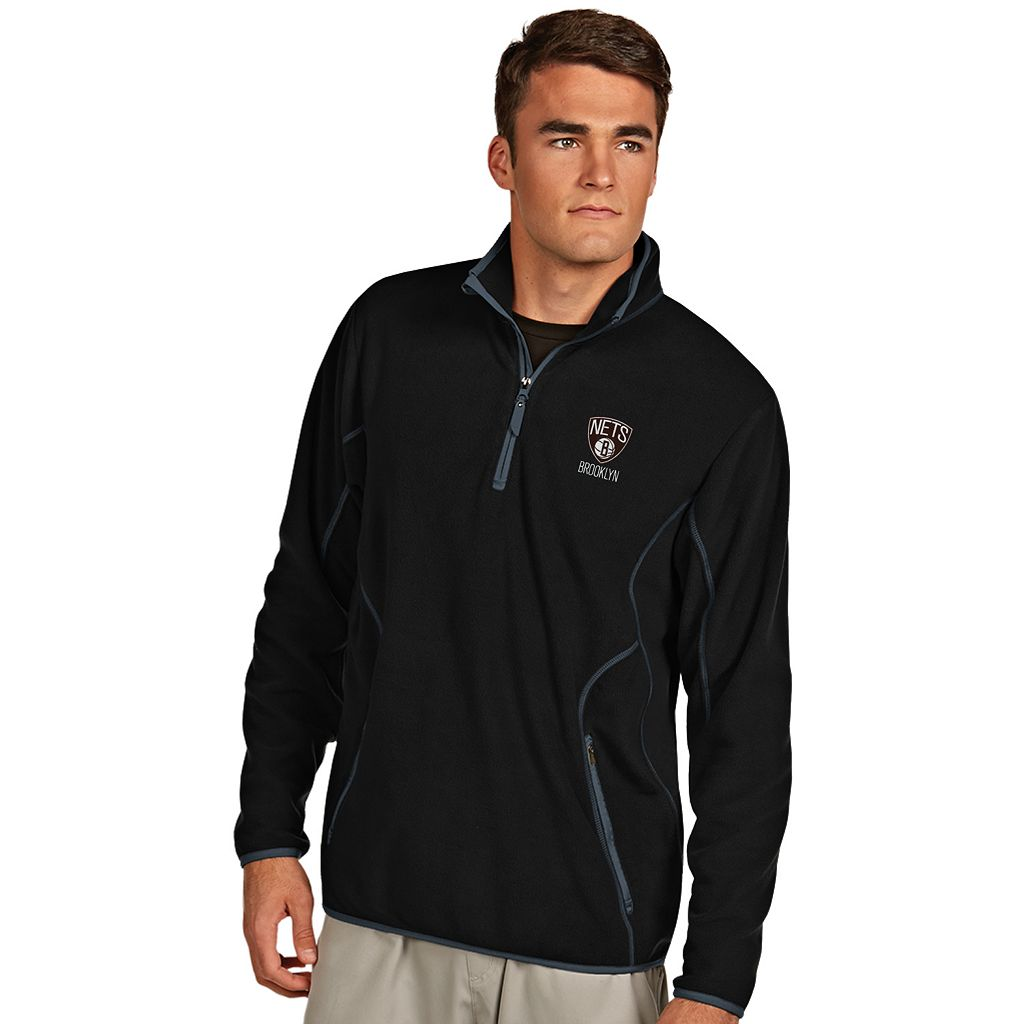 Men's Antigua Brooklyn Nets Ice Pullover