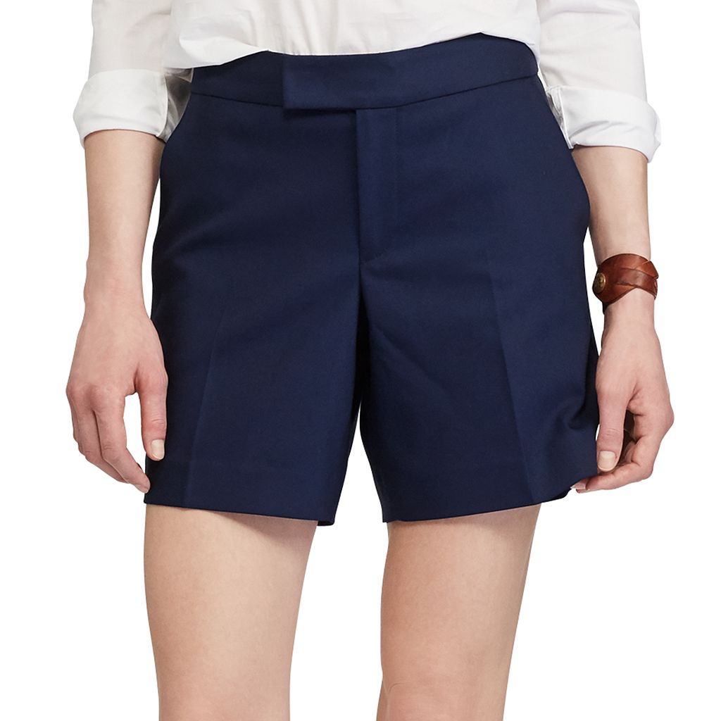 Petite Chaps Stretchy Cotton Shorts