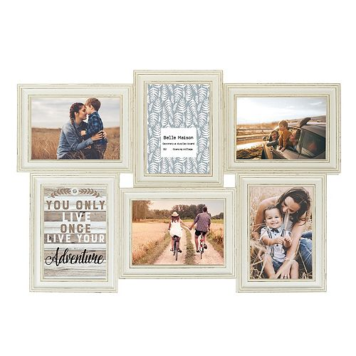 "Belle Maison 6-Opening 4"" x 6"" Fashion Collage Frame"