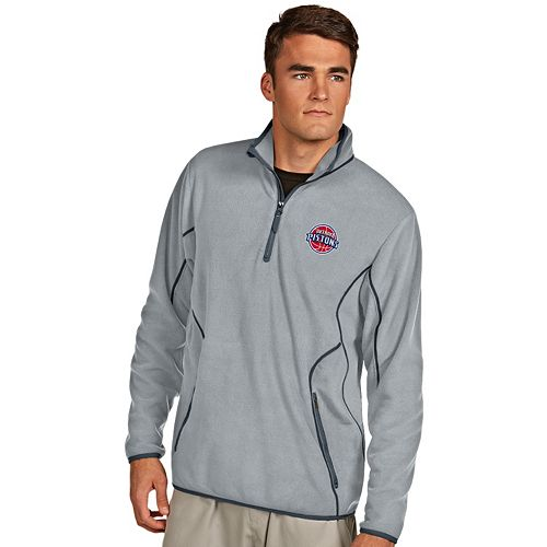 Men's Antigua Detroit Pistons Ice Pullover