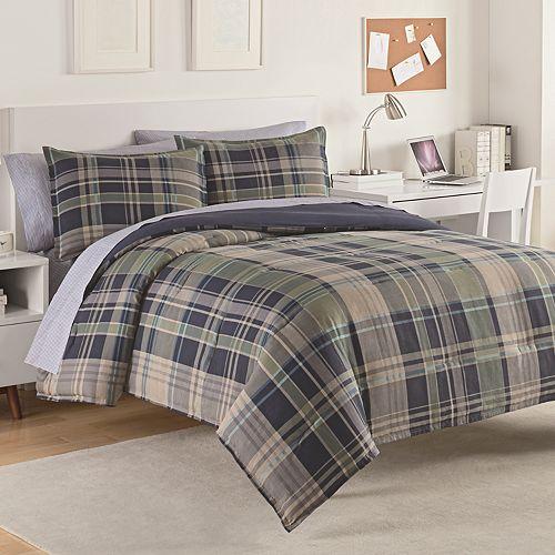 IZOD Seattle Plaid Comforter Set