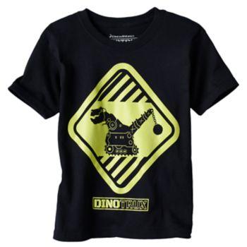 Boys 4-7 DreamWorks Dino Trux Glow-In-The-Dark Graphic Tee