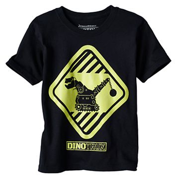 Boys 4-7 DreamWorks Dino Trux Glow-In-The-Dark Graphic Tee