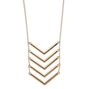 Apt. 9® Chevron Ladder Necklace