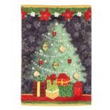 Evergreen Christmas Indoor / Outdoor Garden Flag
