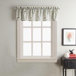 Sketch Floral Window Valance