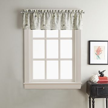 Sketch Floral Window Valance