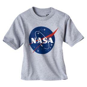 Toddler Boy NASA Heathered Graphic Tee
