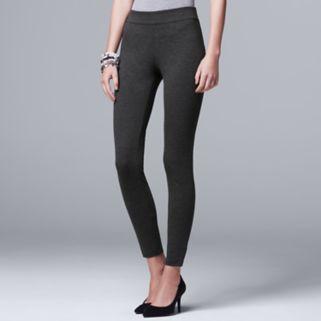 Women's Simply Vera Vera Wang Pull-On Ponte Skinny Pants