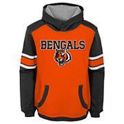 Boys 4-7 Cincinnati Bengals Allegiance Hoodie
