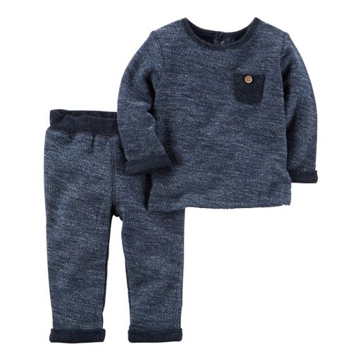 Baby Boy Carter's French Terry Top & Pants Set