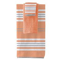 Pacific Coast Textiles Racer Stripe 6-piece Yarn Dyed Bath Towel Set