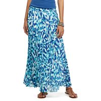 Petite Chaps Pleated Skirt