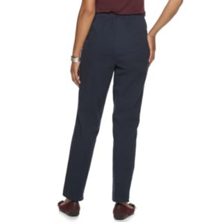Women's Croft & Barrow® Classic Pull-On Tapered-Leg Pants
